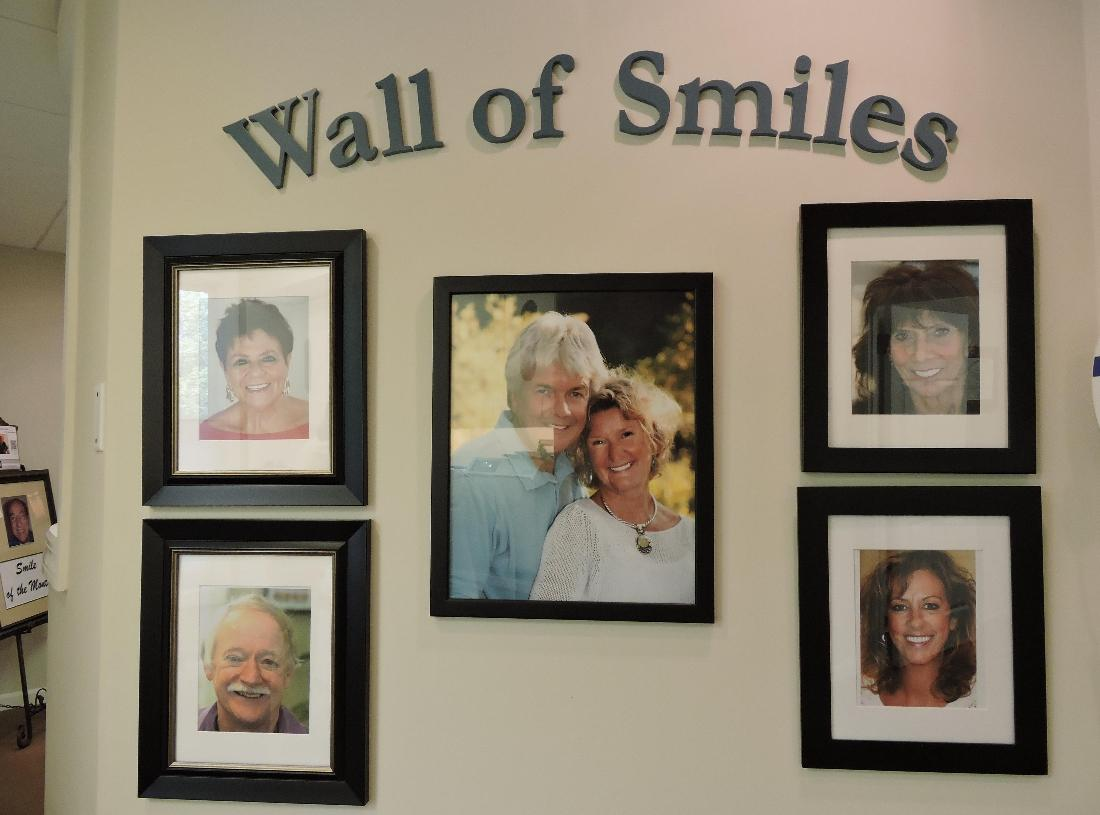 Our Wall of Smiles
