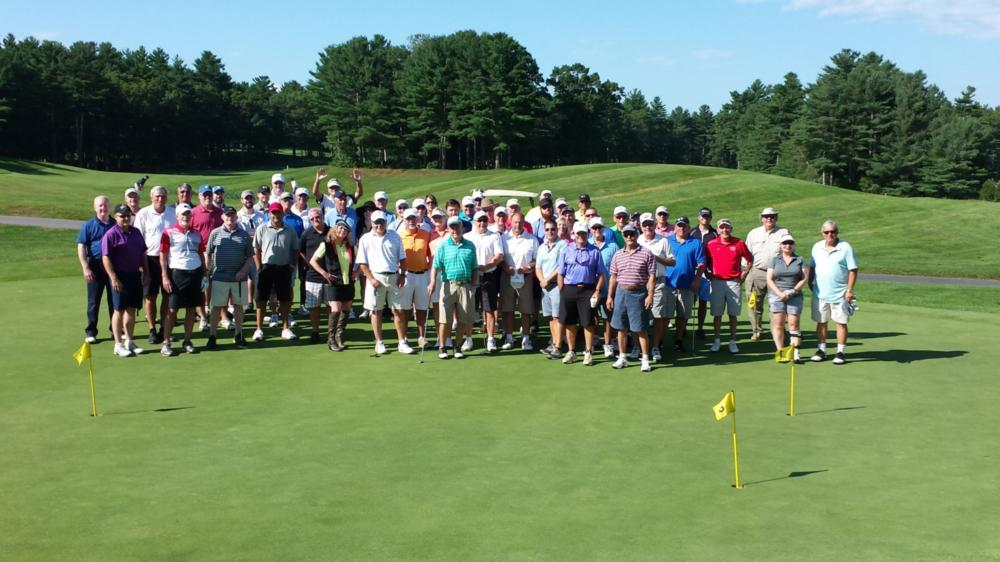 Team photo at Dr. Joe's 6th Annual Gold Outing